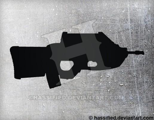 FN F2000 - printable, vector, svg, art