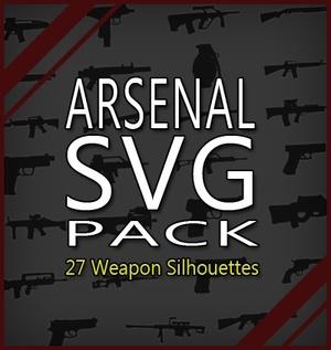 Arsenal SVG Pack - printable, vector, svg, art