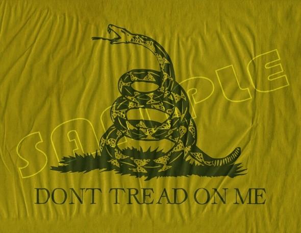 Gadsden Don't Tread on Me Flag
