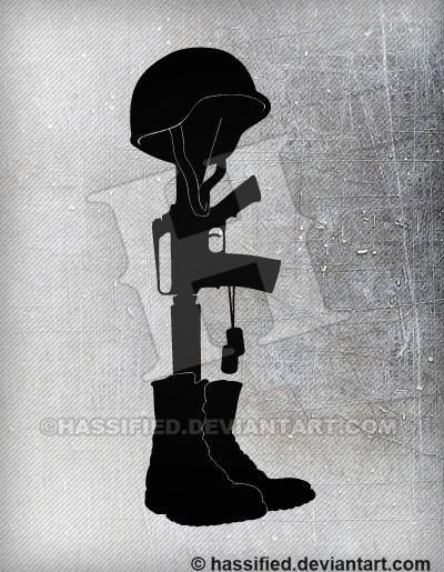 Battlefield Cross - printable, vector, svg, art