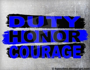 Duty Honor Courage - printable, vector, svg, art