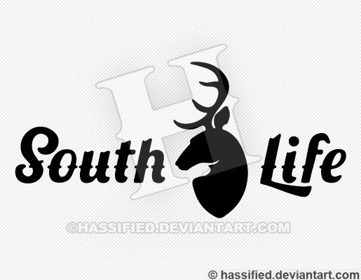 South Life Buck - printable, vector, svg, art