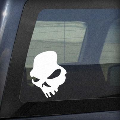 Zombie Skull - printable, vector, svg, art