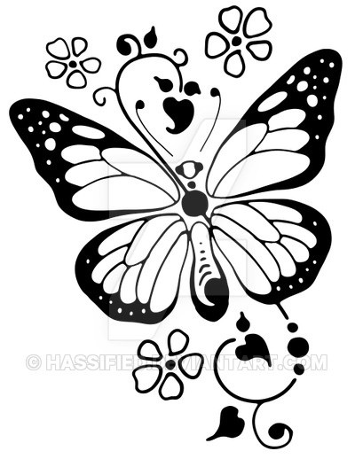 butterfly svg hassified