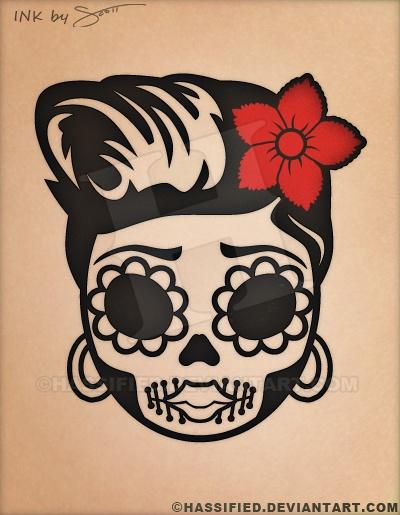picture about Skull Printable named Sugar Skull - printable, vector, eps, svg, jpeg