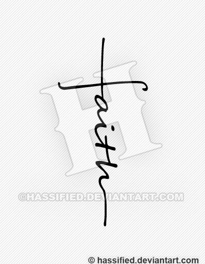 Faith Cross Printable Vector Svg Art Hassified