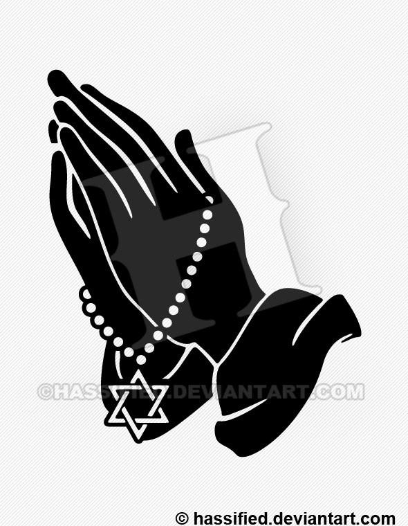 Praying Hands for Israel - printable, vector, svg, art