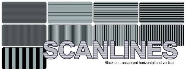 Scanlines; Vertical and Horizontal