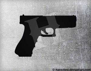 Glock 18 - printable, vector, svg, art