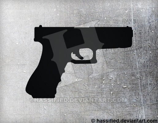 Glock 18 - printable, vector, svg, art