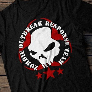 Zombie Outbreak Response Team - printable, vector, svg, art