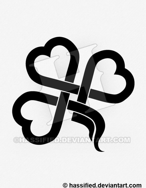 Irish Shamrock - printable, vector, svg, art