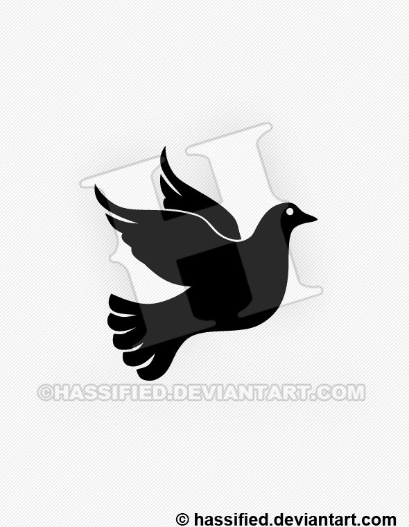 Dove - printable, vector, svg, art