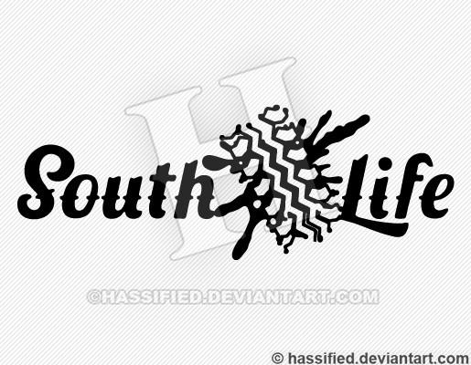 South Life Mud Track - printable, vector, svg, art