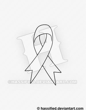 Support Ribbon - printable, vector, svg, art