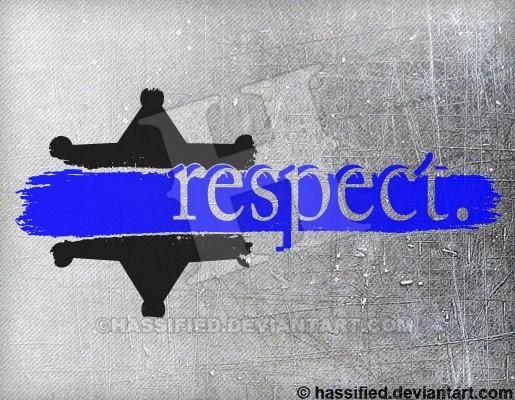 Law Enforcement Respect - printable, vector, svg, art