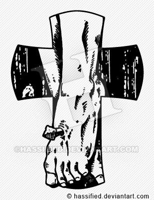 At His Feet - printable, vector, svg, art