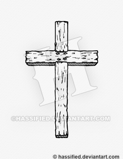 Old Rugged Cross - printable, vector, svg, art