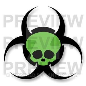 Bio-hazard Skull