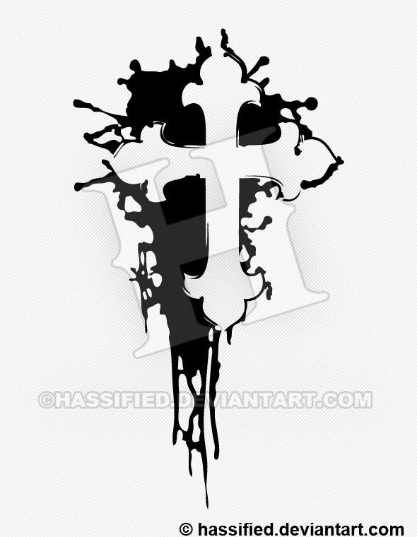 Cross Ink Splat