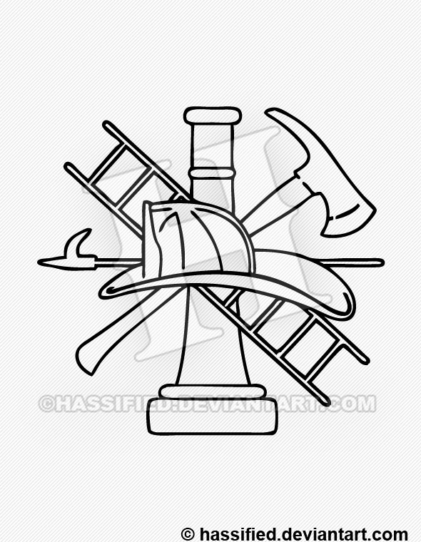 picture relating to Firefighter Printable referred to as Firefighter Brand - printable, vector, svg, artwork