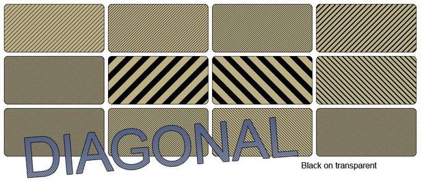 Diagonal Scanlines