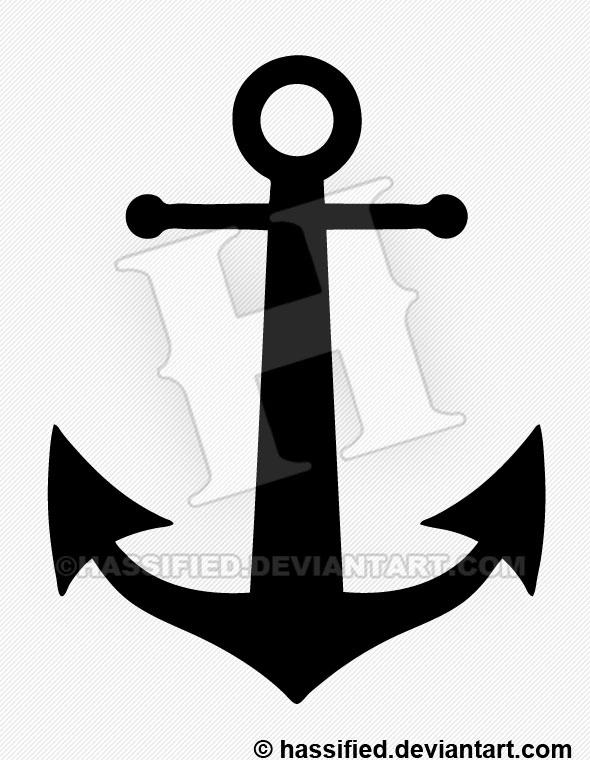 image about Printable Anchor identify Anchor Silhouette - printable, vector, svg, artwork