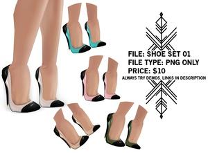 Righteous: Shoe Set 01