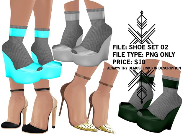 Righteous: Shoe Set 02