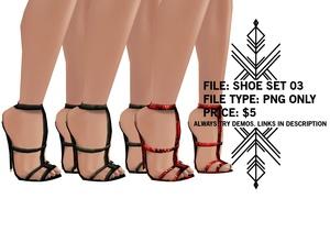 Righteous: Shoe Set 03