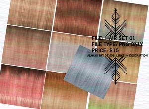 Righteous: Hair Set 01 SALE
