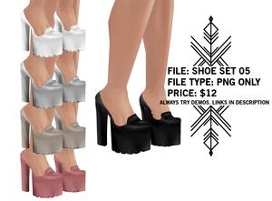 Righteous: Shoe Set 05