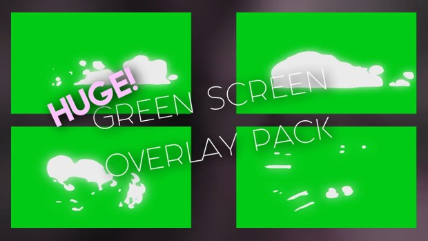 Green Screen Overlay Pack!