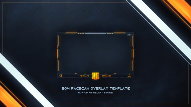 BLACK OPS 4 FACECAM OVERLAY l Professional