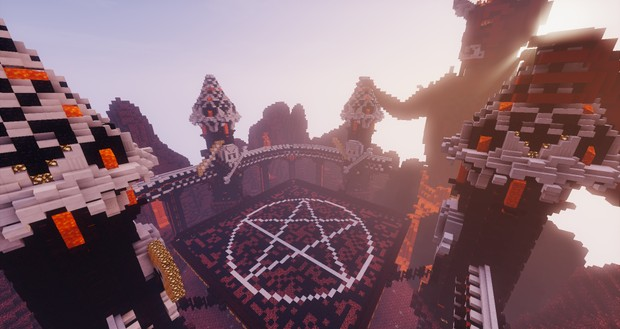 Spleef Arena - Nether