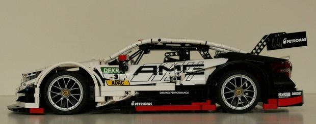 Lego Technic Moc Mercedes Benz Amg C63 Dtm Bodywork Brunojj1