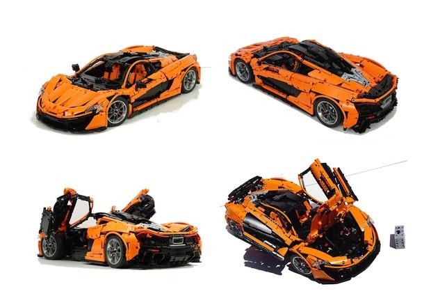 Lego Technic Moc Mclaren P1 Hypercar 18 Manual Vers