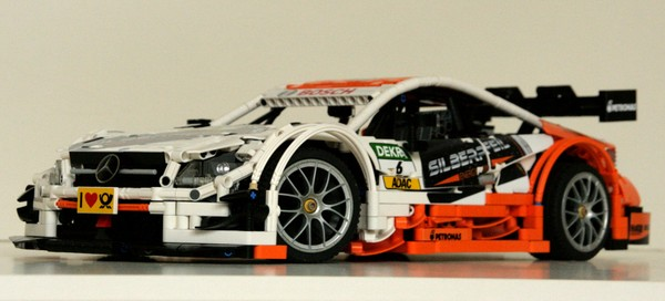 Lego Technic MOC Mercedes-Benz AMG C63 DTM - bodywork