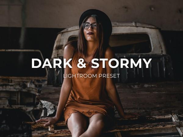 DARK & STORMY LIGHTROOM PRESET