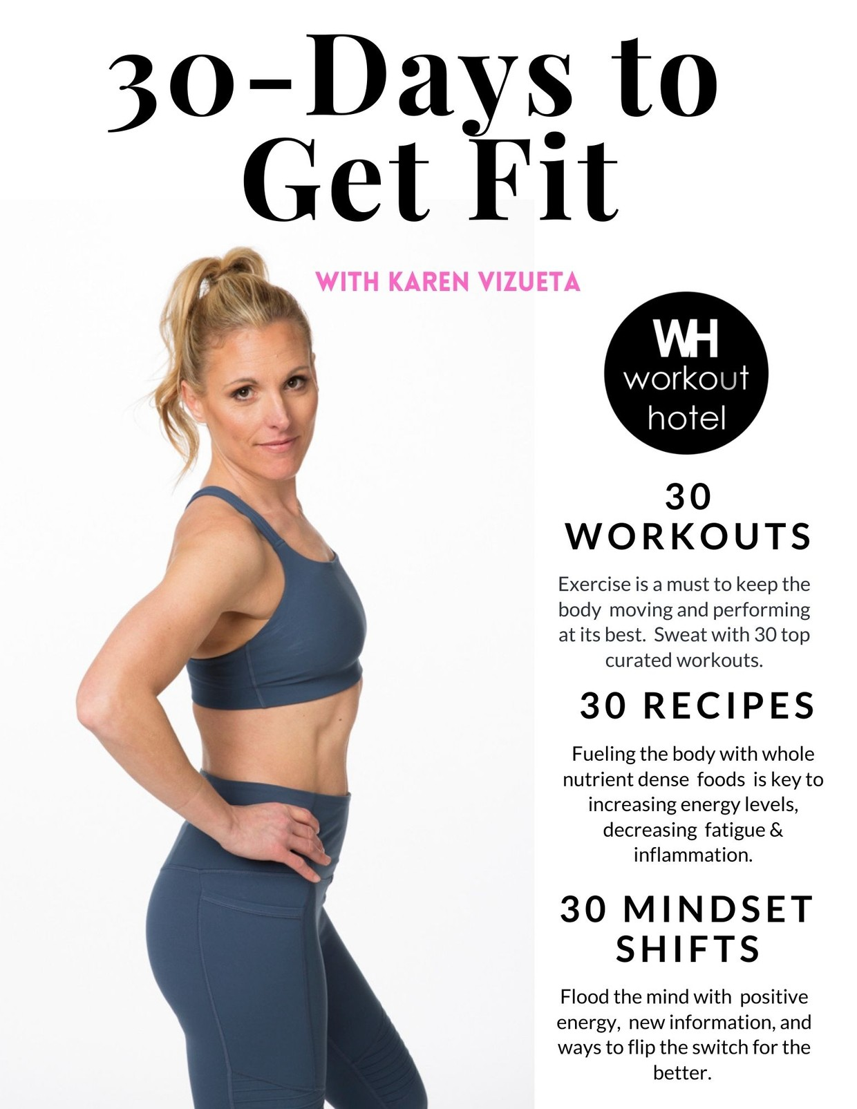 30 Days to Get Fit: E-BOOK