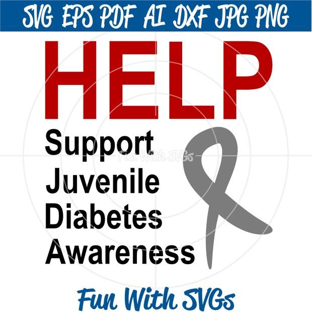 Juvenile Diabetes Awareness, Help Support,