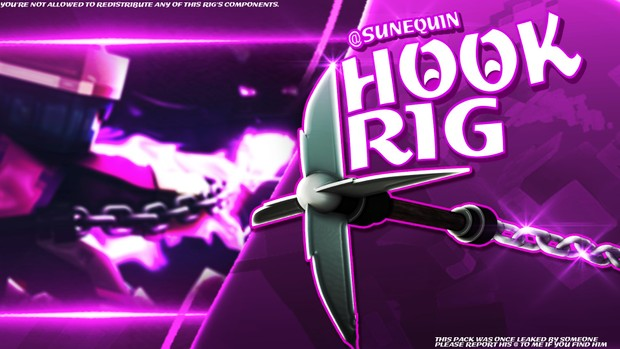 ♥ [NEW] Hook Rig By Sunequin