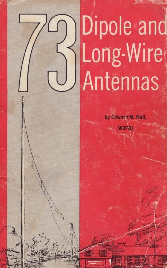 73 Dipole and Long-Wire Antennas - For Ham Radio Use