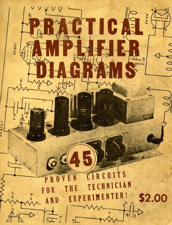 Practical Amplifier Diagrams by Jack Robin & Chester Lipman (1947)