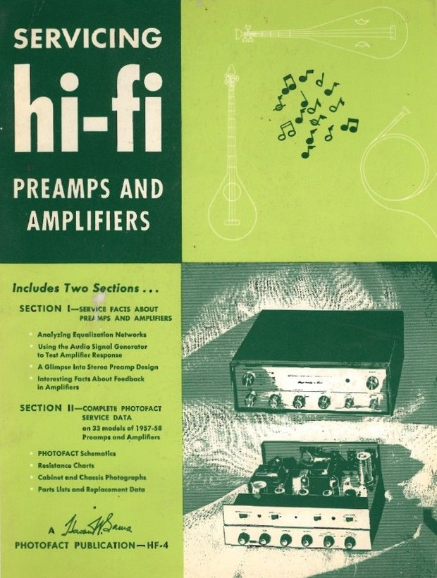 Servicing Hi-Fi Preamps and Amplifiers - 1957 & 1958 - Vintage