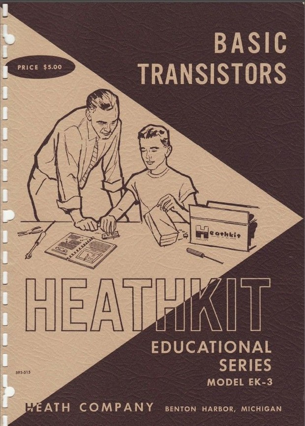 Heathkit - Basic Transistors - Model EK-3