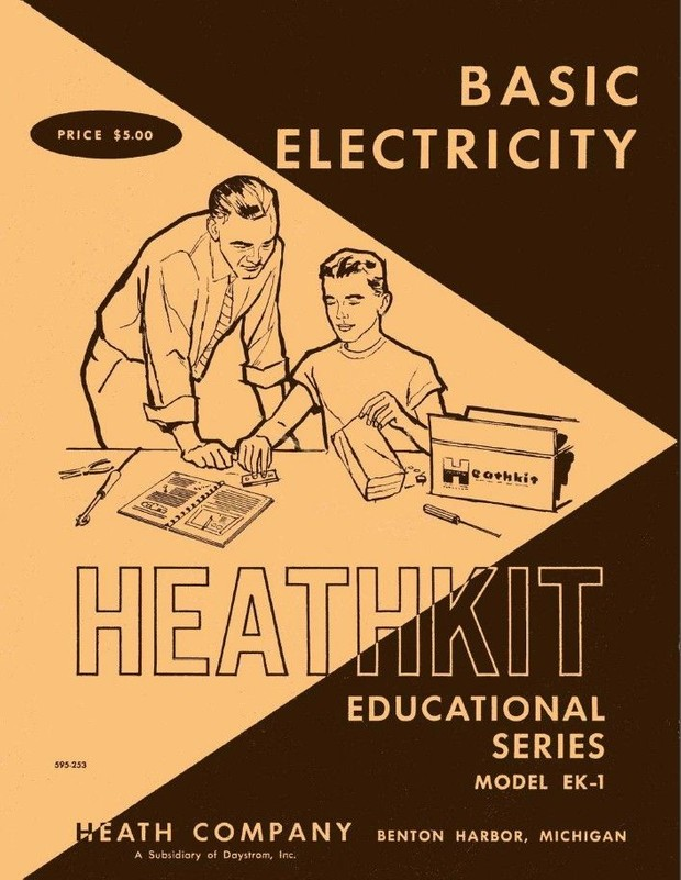 Heathkit - Basic Electricity - Vintage Step-by-Step Course for the Beginner - Model EK-1