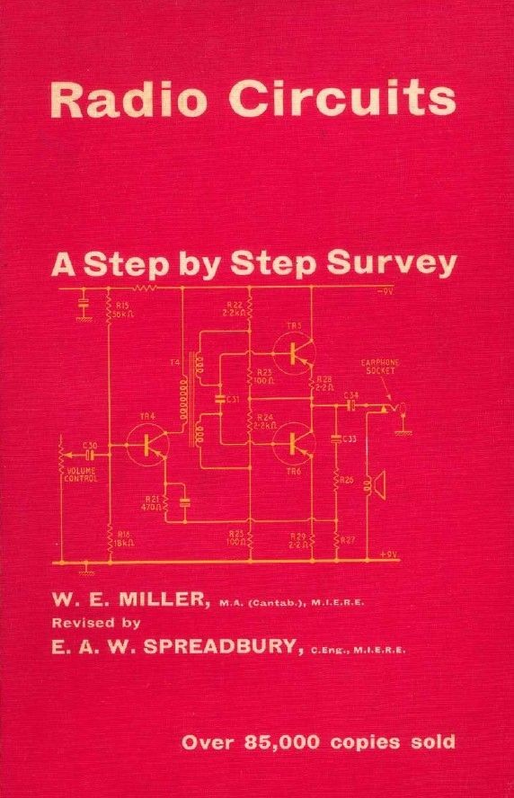 Radio Circuits: A Step By Step Survey 1966 - Vintage Servicing Book
