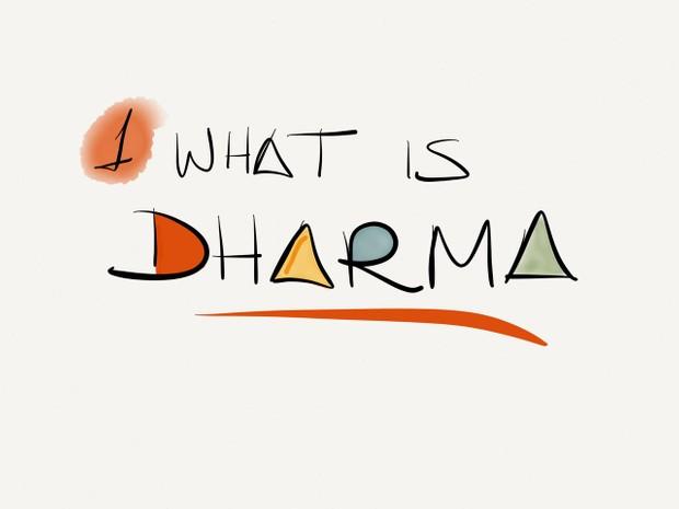 AM Yoga Philosophy 1 - What is Dharma?