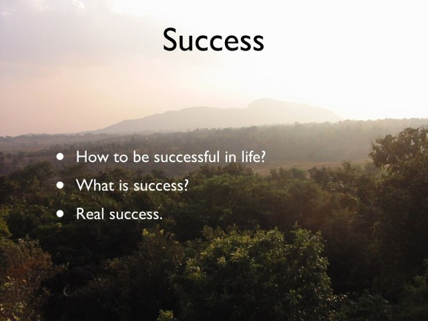 Three Factors for Spiritual Success in Life